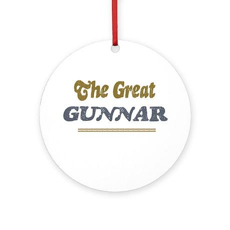 Gunnar Ornament (Round)