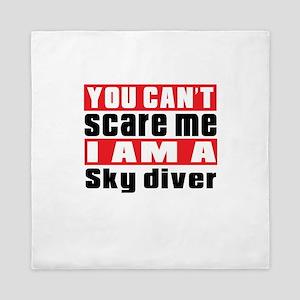 I Am Sky diving Player Queen Duvet