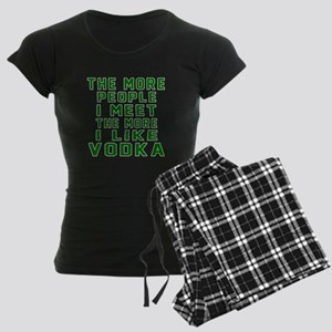 I Like Vodka Women's Dark Pajamas