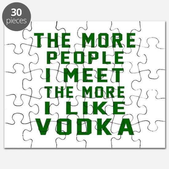 I Like Vodka Puzzle