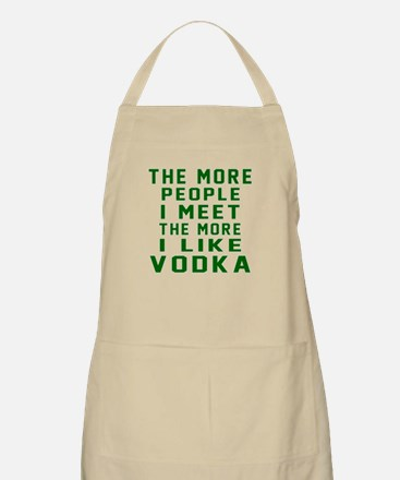 I Like Vodka Apron