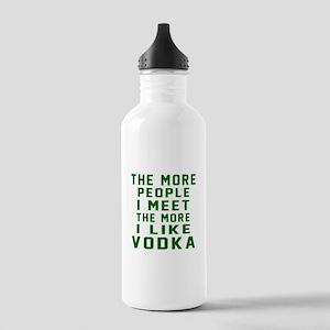 I Like Vodka Stainless Water Bottle 1.0L