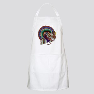 Thanksgiving Turkey Art Apron