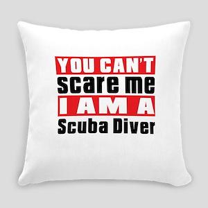 I Am Scuba Diving Player Everyday Pillow