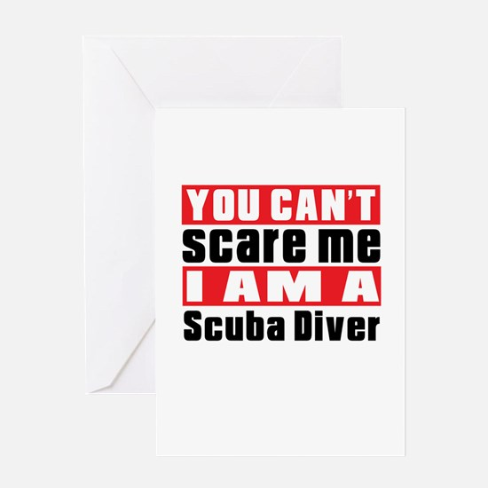 I Am Scuba Diving Player Greeting Card