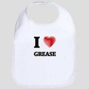 I love Grease Bib