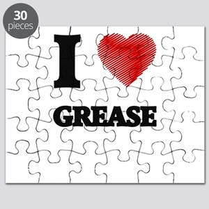 I love Grease Puzzle