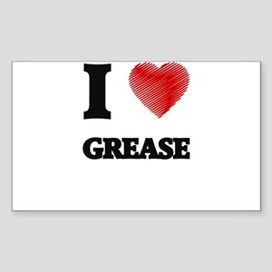 I love Grease Sticker