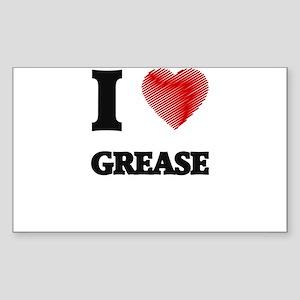 I love Grease Sticker