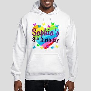 HAPPY 8TH Hooded Sweatshirt