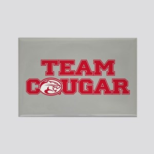 University of Houston Team Cougar Rectangle Magnet