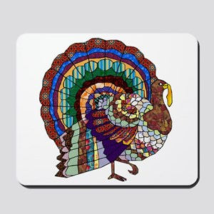 Thanksgiving Turkey Art Mousepad