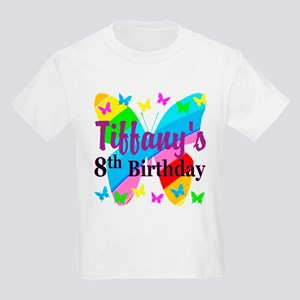 HAPPY 8TH Kids Light T Shirt
