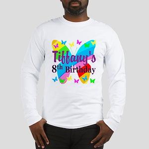 HAPPY 8TH Long Sleeve T-Shirt