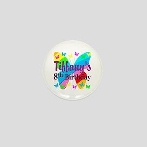HAPPY 8TH Mini Button