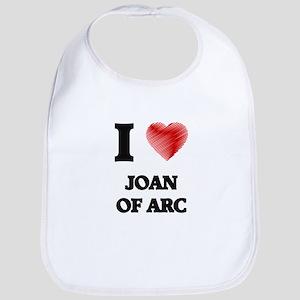 I love Joan Of Arc Bib