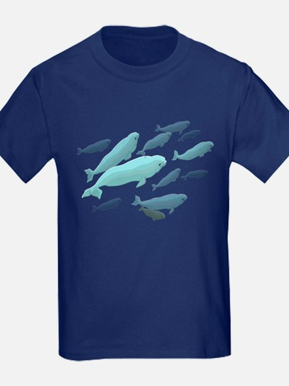Beluga Whales T Kids Whale Shirt