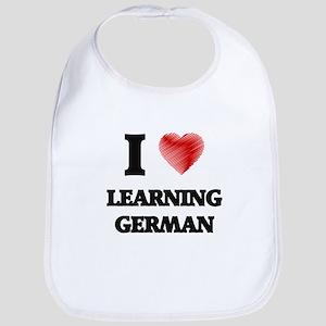 I love Learning German Bib
