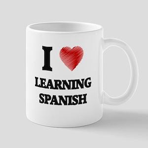 I love Learning Spanish Mugs