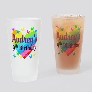 PERSONALIZED 9TH Drinking Glass