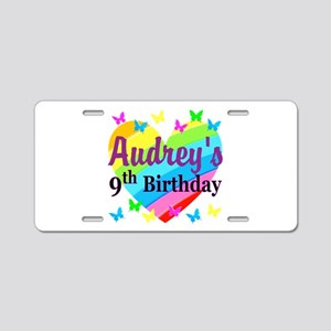 PERSONALIZED 9TH Aluminum License Plate