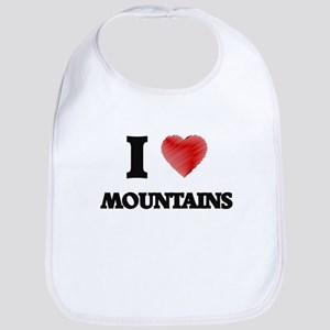 I love Mountains Bib