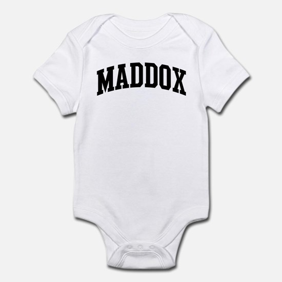 MADDOX (curve) Infant Bodysuit