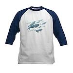 Beluga Whales Kids Baseball Jersey Whale Shirt