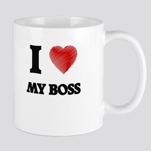 I love My Boss Mugs