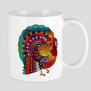 Thanksgiving Jeweled Turkey Mug