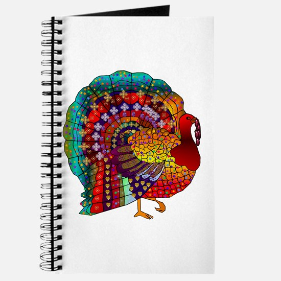 Thanksgiving Jeweled Turkey Journal
