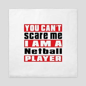 I Am Netball Player Queen Duvet