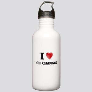 I love Oil Changes Stainless Water Bottle 1.0L