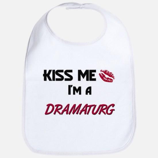 Kiss Me I'm a DRAMATURG Bib