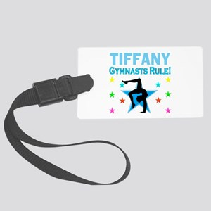 GYMNAST GIRL Large Luggage Tag