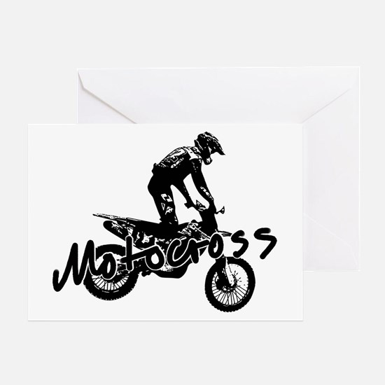 Funny Motocross Greeting Card