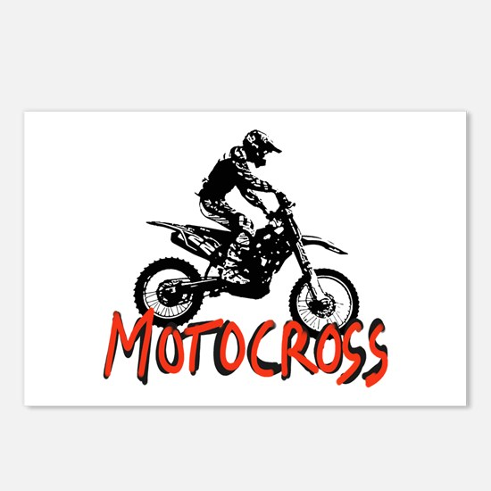 Motocross Postcards (Package of 8)