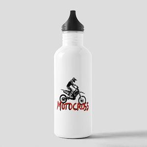 Motocross Stainless Water Bottle 1.0L