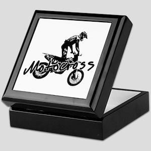 Motocross Keepsake Box