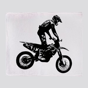 Motocross Throw Blanket