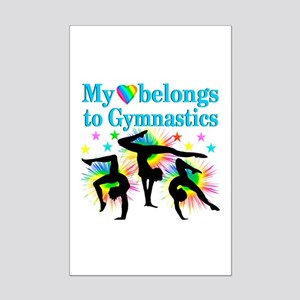 GYMNAST STAR Mini Poster Print