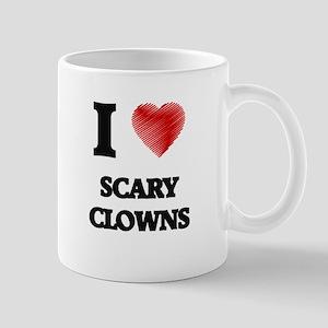 I love Scary Clowns Mugs
