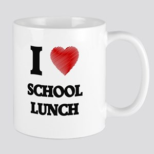 I love School Lunch Mugs