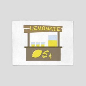 Lemonade Stand 5'x7'Area Rug