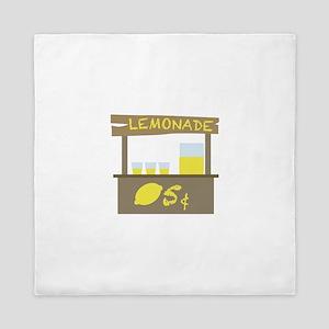 Lemonade Stand Queen Duvet