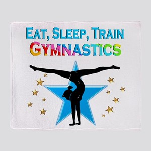 GYMNAST STAR Throw Blanket