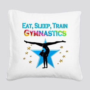 GYMNAST STAR Square Canvas Pillow