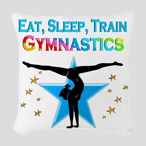 GYMNAST STAR Woven Throw Pillow