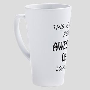 Awesome Dad 17 oz Latte Mug
