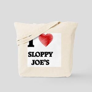 I love Sloppy Joe'S Tote Bag